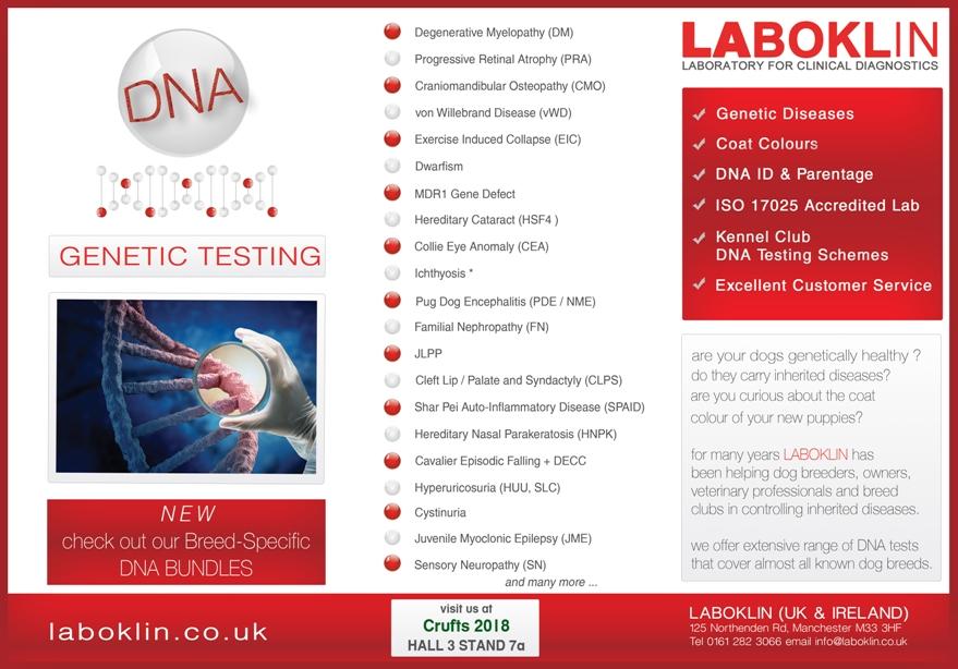LABOKLIN Laboratory for DNA genetic testing